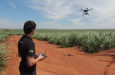 Uso de drones na agricultura tem grande potencial