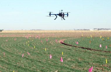 Drones transformam a paisagem no campo