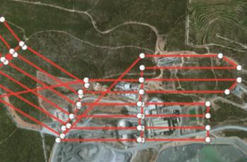 Drones na mineração, uma combinação de sucesso