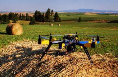 Os drones estão dominando a agricultura