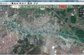 Planejamento ferroviário com Drones