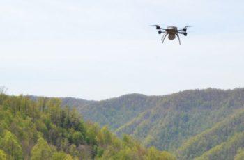 A eficiência de dados geográficos com drones