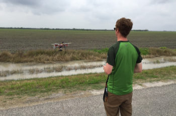 Monitoramento de plantações com drones