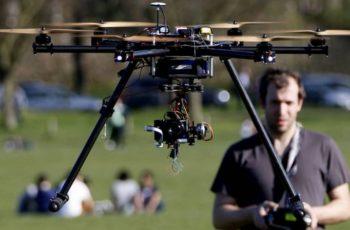 Os inovadores operadores de drones