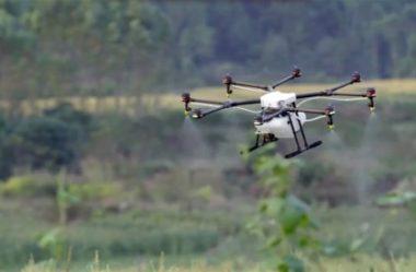 Drones para agricultura: conheça o DJI Agras MG-1