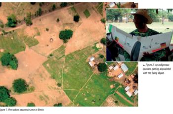 Levantamentos com VANTs na África