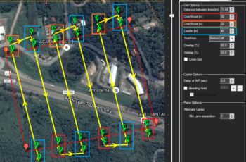 Mission Planner: Você conhece as funções Overshoot e Lead In?