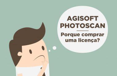 Agisoft Metashape: Por que comprar uma licença?