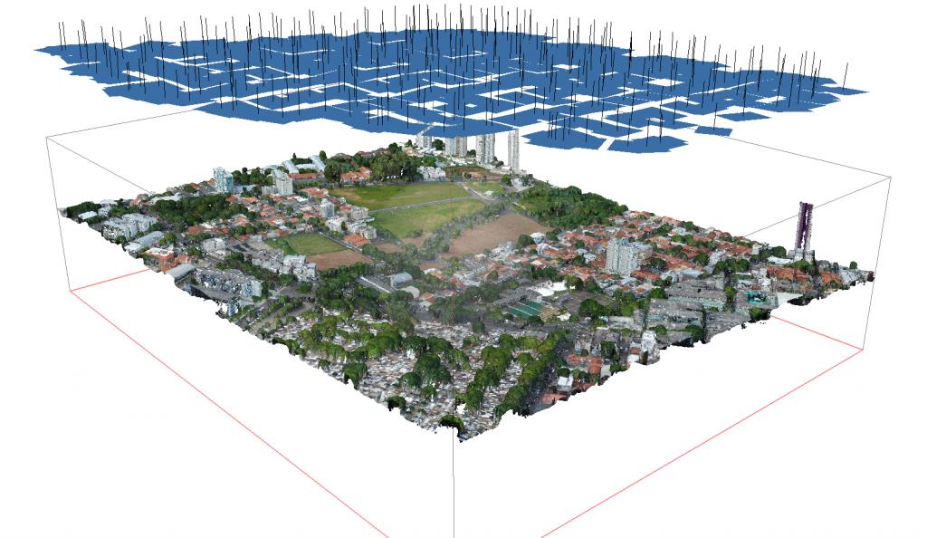 drones para cálculo de IPTU