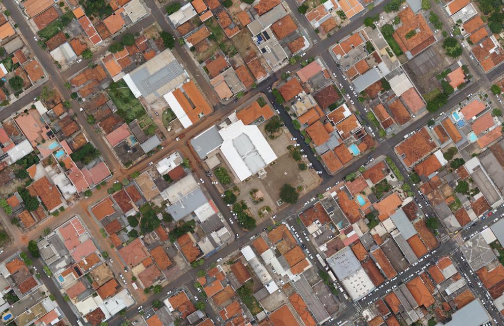Gestão Urbana com Drones