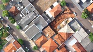 mapeamento aéreo urbano
