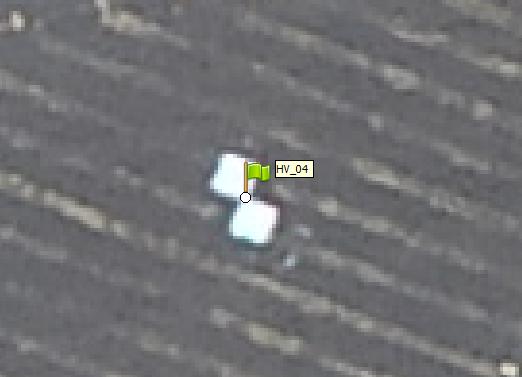 pontos de apoio com drones
