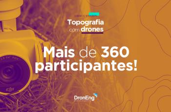 Semana de Workshops da Droneng: mais de 360 alunos participaram das palestras