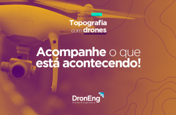 Semana de workshops da Droneng: acompanhe as principais informações das palestras