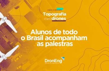 Semana de workshops da Droneng: Alunos de todo o Brasil acompanham as palestras
