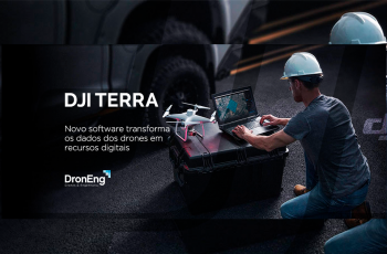 DJI Terra: novo software transforma os dados dos drones em recursos digitais