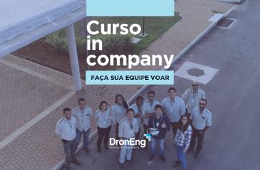 Curso in company Droneng: faça sua equipe voar