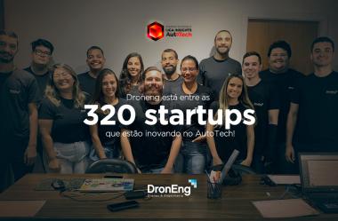 Droneng está entre as 320 startups que estão inovando no AutoTech