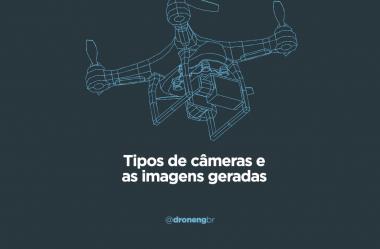Tipos de câmeras para drones e as imagens geradas