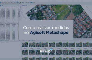 Agisoft Metashape: como realizar medidas no software