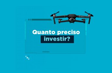 Mapeamento aéreo com drones: quanto preciso investir?
