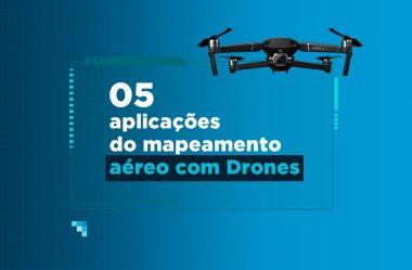 Topografia com drones: conheça 5 aplicações